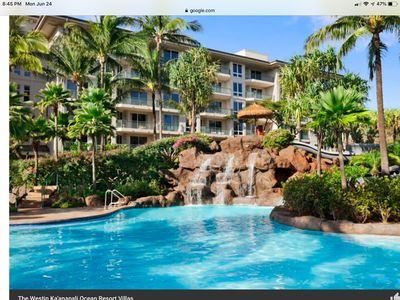 Photo for Westin Ka' anapali ocean resort villas  2 bdr