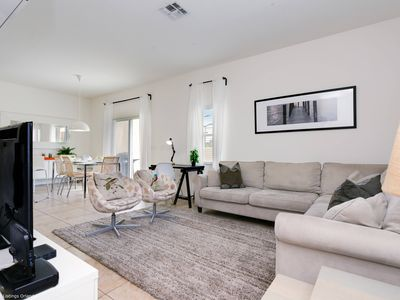 Photo for Modern Bargains - Bella Vida Resort - Beautiful Spacious 4 Beds 3 Baths Townhome - 7 Miles To Disney