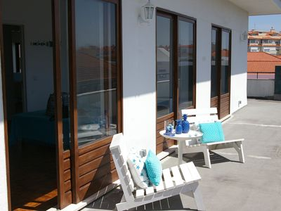 Photo for Blue Apartment Parede Beach House - Village Center