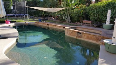 Photo for Large 5 bedroom Pool Home Private Gated Community Tennis Courts close to Golf