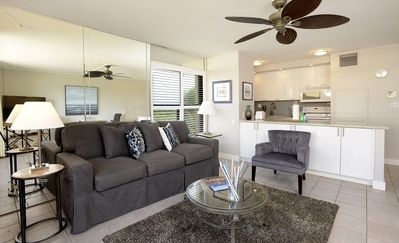Photo for Ocean & Mtn View Penthouse 1 BR End Unit Newly updated!  King Bed, A/C, Privat
