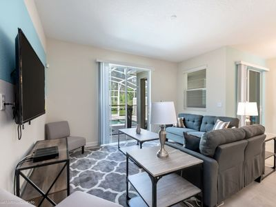 Photo for Lovely 4 Bed Pool Townhome in Champions Gate
