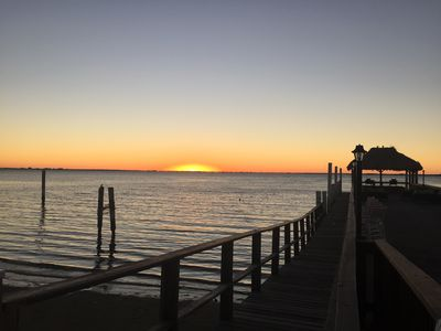 Photo for Waterfront views!- Casa del Playa - Heated pool on the bay
