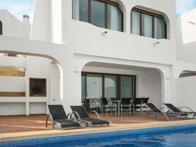 Photo for 3 bedroom Villa, sleeps 6 in La Fustera with Pool, Air Con and WiFi