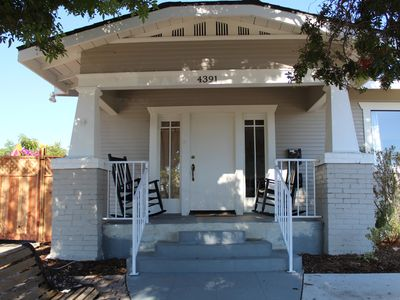 Photo for North Park craftsman house sleeps 8 w/parking in the heart of San Diego