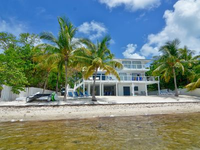 Photo for Stunning Beach Front Home W/ Private Pool In Islamorada
