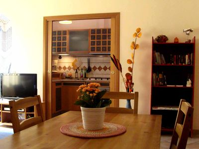 Photo for A cosy, quiet and bright apartment In the heart of Trastevere