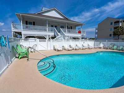 Photo for Private Home Pool Spa Pristine Roof Deck Elevator Pet Friendly Updated Clean!