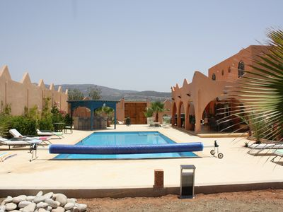 Photo for Apartment for rent in large villa with pool