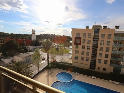 Photo for 114 - TURQUESA II. One bedroom apartment 150m from the beach.