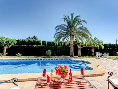Photo for Four Bedroom Villa In Javea, Very Private With Pool, Air Con And Wifi
