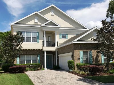 Photo for Villa Hampton at Reunion Resort (5 mins to Disney) Luxury Home with Private Pool