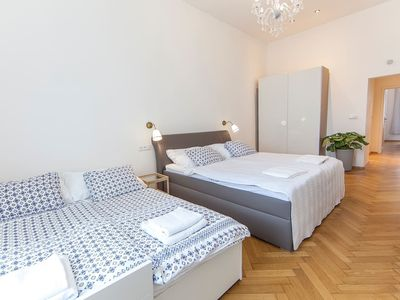 Photo for Modern 2 BR apartment with large living room near bus station by easyBNB