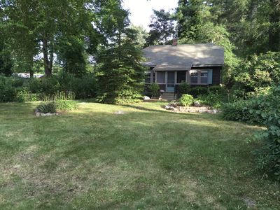 Photo for Cozy Cottage walking distance to beach and Marion Center