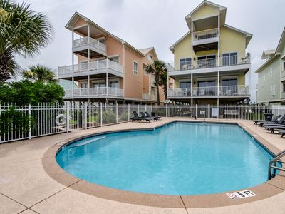 Photo for BEACHFRONT WITH POOL!  New grill and deck ceiling! June 6-15 dates 20% off!