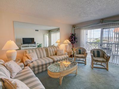 Photo for 2BR / 1.5BA - Beautiful views of the Gulf and pool