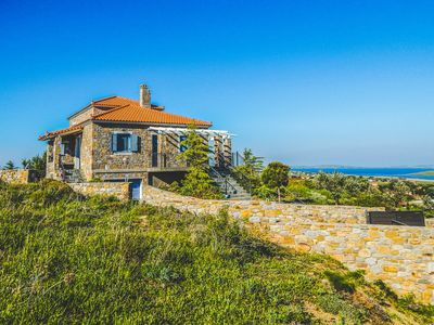Photo for Beautiful Stone House with Stunning Sea Views