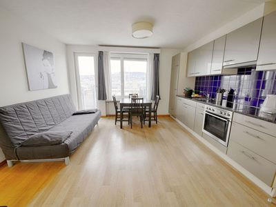 Photo for ZH Ivory - Letzigrund HITrental Apartment