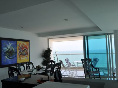 Photo for Beautiful, Spacious In the Most Exclusive Area in Cartagena