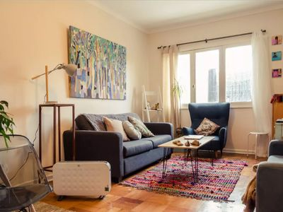 Photo for Cozy noble apartment from the 50's in Parque Forestal