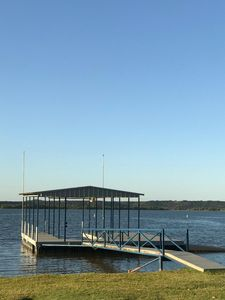 Photo for Beautiful Possum Kingdom Waterfront Lake House / Private Boat Dock
