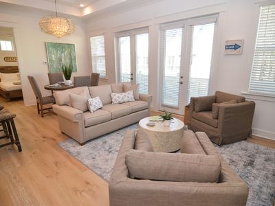 Photo for Bask in Contemporary Luxury in Our 30A Townhouse - Rate Drop!