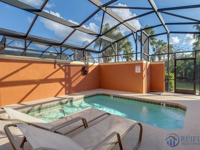 Photo for PARADISE PALMS (8956CPR) - 4 Bedroom (2 King Masters), 3 Bath, 1 Master ground floor, south facing