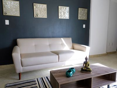 Photo for beautiful and spacious apartment near the center of cancun excellent for 6 102ES