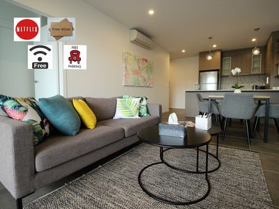 Photo for Luxury*Kangaroo point apt*2bed/2bth/parking*views