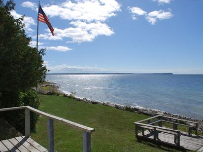 Photo for Amazing Sunsets • 280 Ft. Shore • 2.5 Acres • Great Cottage!