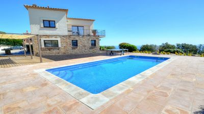 Photo for AWESOME HOUSE WITH SEA VIEWS IN EL MAS NOU, PLAYA DE ARO