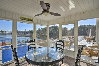 This vacation rental features pristine at-home and community amenities.