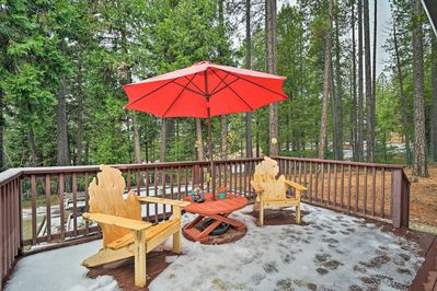 Spend days enjoying the outdoors on your private deck.