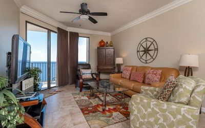 Photo for Top Floor GULF FRONT Condo! 2 Bedroom! This BEACH VIEW is AMAZING!