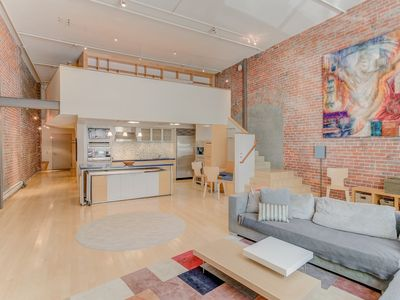 Photo for Spacious Luxury Historic Loft in Downtown SF