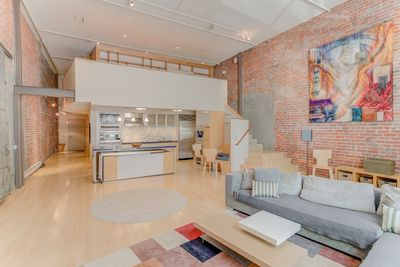 Welcome to our  Spacious Luxury Furnished Historic Loft in SF!