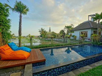 Photo for 3 Bedroom Cozy Private Pool Villa Close to Ubud Center & Nice View