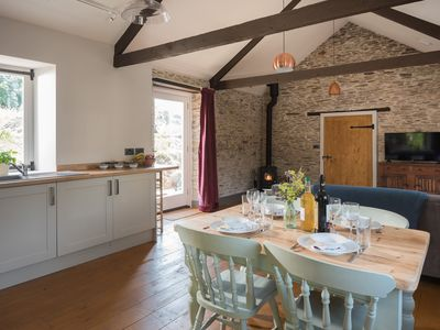 Photo for Award winning beautiful barn conversion over looking nature reserve