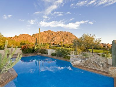 Photo for Majestic Home has Gorgeous Golf Course & Troon Mountain Views