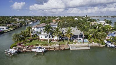 Photo for Stunning Aqualane Shores home with beautiful Naples Bay views!
