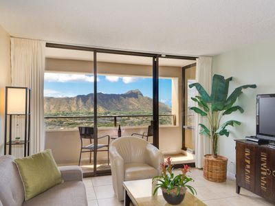Photo for Amazing views of Diamond Head, Waikiki Beach, and the Pacific Ocean!
