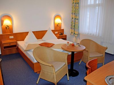Photo for Double room balcony B 14 - Appartementhaus Sellin