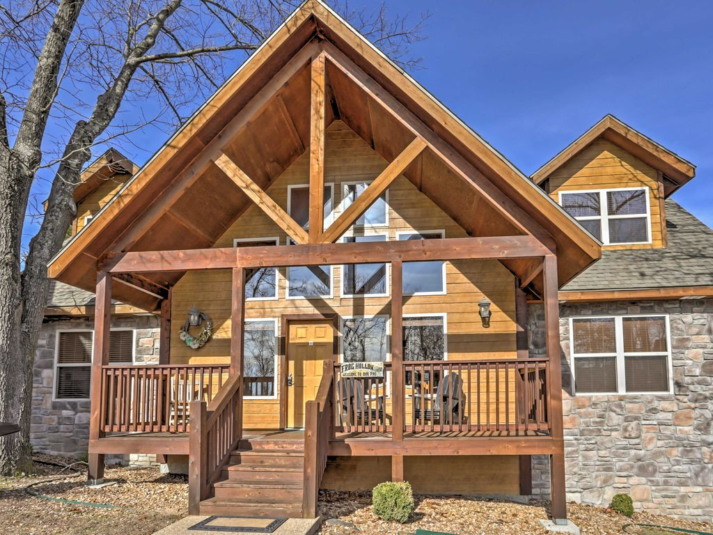 casa per 12 persone in branson 4462331 On cabine di rana holler