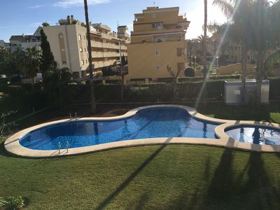 Photo for Dénia apartment with pool, beach and town center on foot 4/5 per sonnes