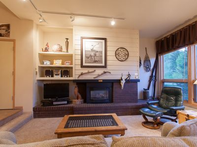 Photo for 4BDRM/4BA Creekside Condo- Beautiful Views from Sun Deck w/Fire Pit & Hot Tubs
