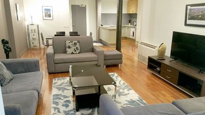 Photo for Anchor on Collins Epic (3 Bedroom + 2 Bath)