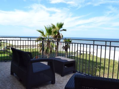 Photo for Panoramic Ocean Views of the huge beachfront home in Jacksonville Beach Florida