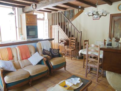 Photo for Charming country house in green Périgord, all comfort, 3 bedrooms, 2 bathrooms
