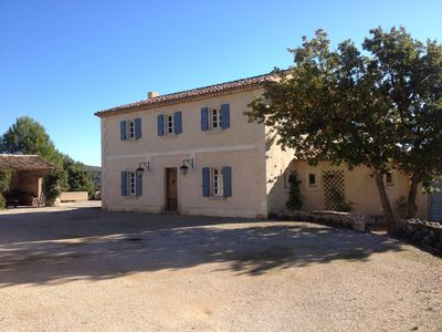 Photo for CHARMING BASTIDE ON A DOMAIN OF 3 HA WITH LARGE PRIVATE POOL 6X16M