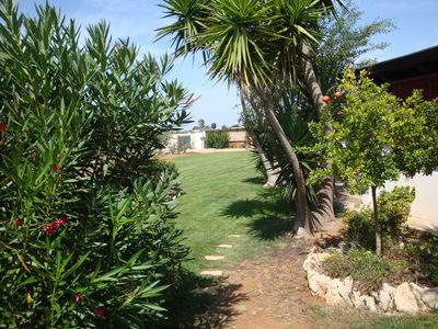 Photo for Accommodation EST inside Villa Parco Fiorito just a few steps from the sea